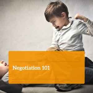 Negotiation 101 - Online Course